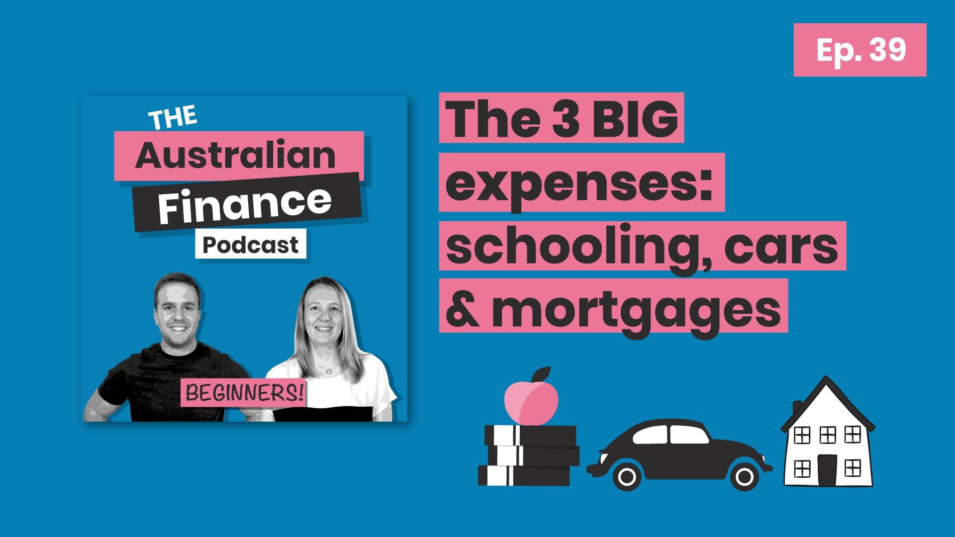 expenses episode - australian finance podcast