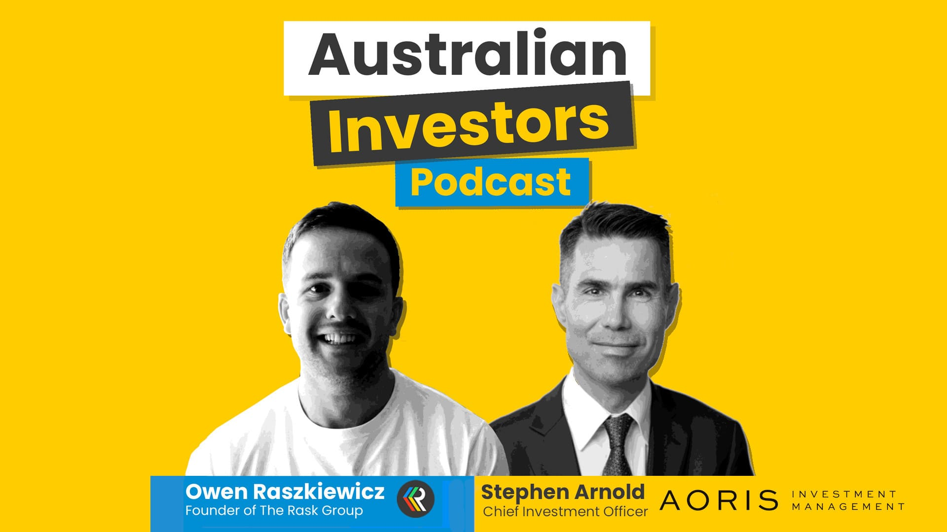 Stephen Arnold Australian Investors Podcast