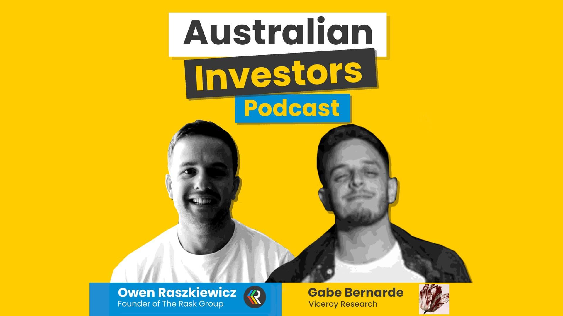 Viceroy gabe australian investors podcast