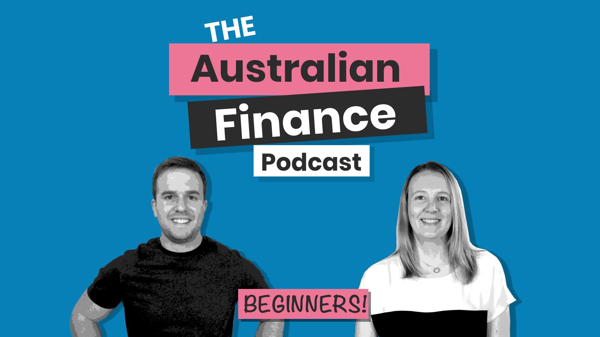australian finance podcast logo image