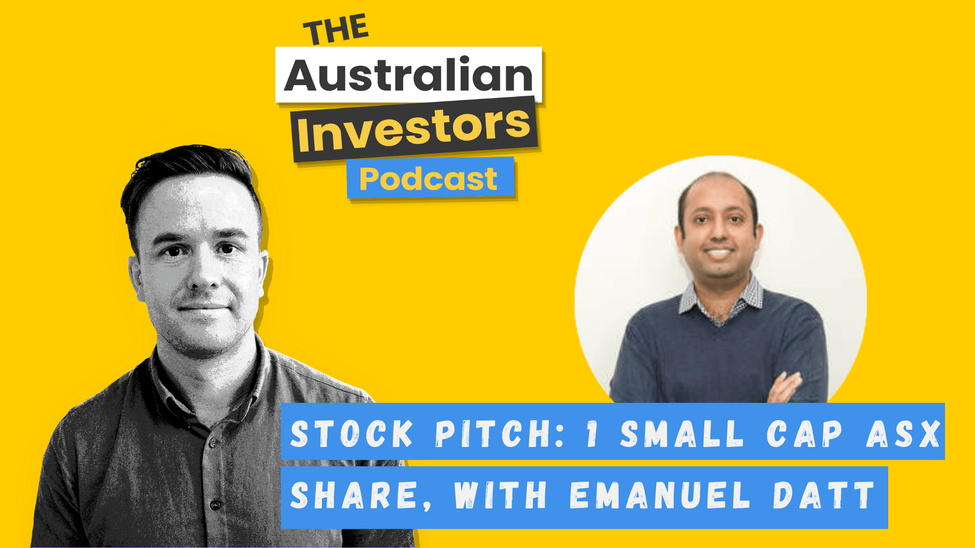 Stock Pitch- Emanuel Datt