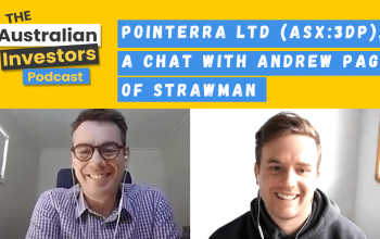 Pointerra Ltd (ASX:3DP), a chat with Andrew Page of Strawman